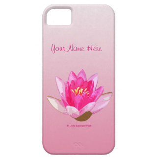 Pink Waterlily iPhone SE/5/5s Case