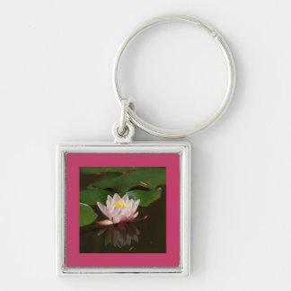 Pink Waterlily Key Chain
