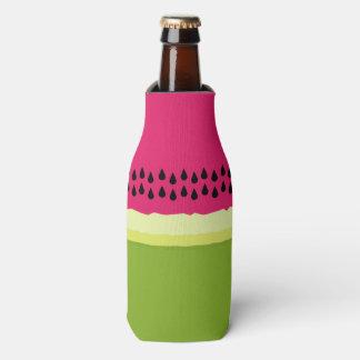 Pink Watermelon Slice Bottle Cooler