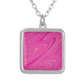 Pink Wave Water Abstract Design Pattern Custom Jewelry