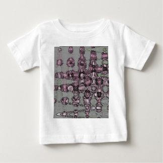 Pink Waves 3 Baby T-Shirt