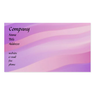 Pink Waves Business Card