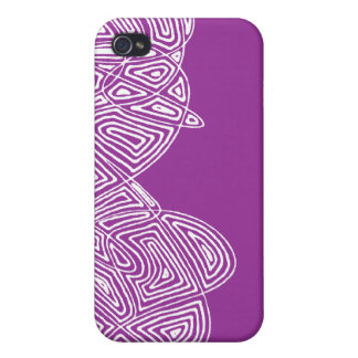 Pink Waves Case For iPhone 4