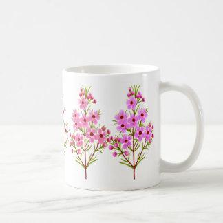 Pink Waxflowers Mug