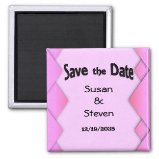 Pink Weave Magnet