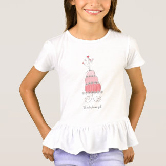 Pink Wedding Cake Fun Custom Your Own T-shirt