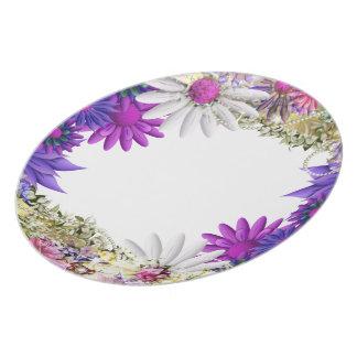 Pink wedding elegant dinnerware party plate