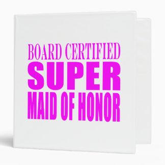 Pink Wedding Favors : Super Maid of Honor Binder