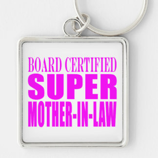 Pink Wedding Favors & Thanks : Super Mother in Law Keychains