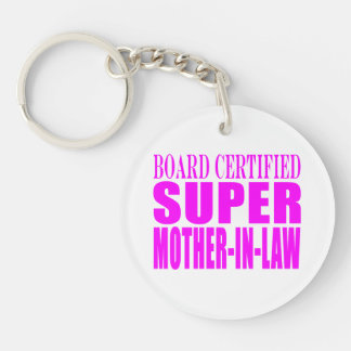 Pink Wedding Favors & Thanks : Super Mother in Law Acrylic Keychain