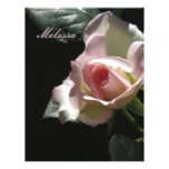 Pink Wedding Rose Letterhead