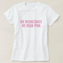 Pink Wednesday T-Shirt