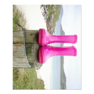 Pink Wellies Flyer