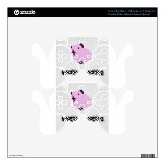 Pink wheek wheek guinea pig skins for PS3 controllers