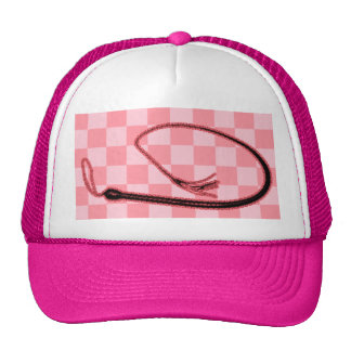 PINK WHIP TRUCKER HAT