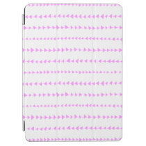 Pink White Aztec Arrows Pattern iPad Air Cover at Zazzle