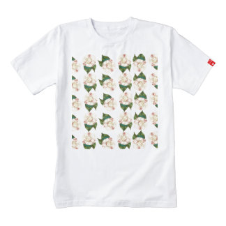 Pink white camellia pattern. zazzle HEART T-Shirt