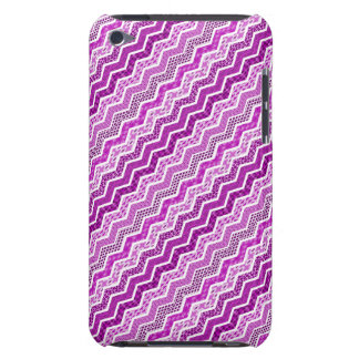 Pink White Chevron Geometric Designs Color iPod Touch Cases