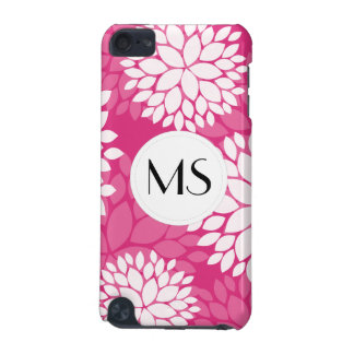 Pink White Floral Pattern iPod Touch 5G Covers