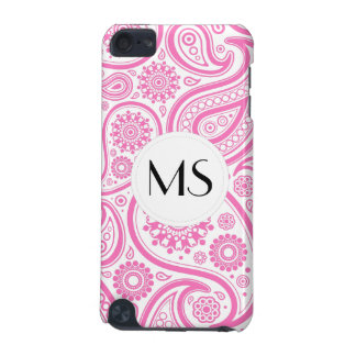 Pink White Floral Pattern iPod Touch 5G Case