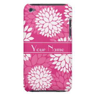 Pink White Floral Pattern iPod Touch Cover