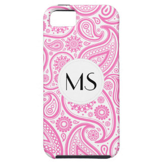 Pink White Floral Pattern iPhone 5 Covers