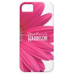 Pink White Gerbera Daisy iPhone 5 Case