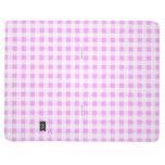 Pink White Gingham Pattern Journals