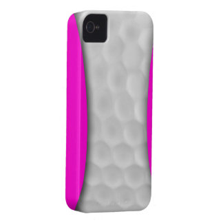 Pink White Golf Ball Iphone 4 4S Case Case-Mate iPhone 4 Case