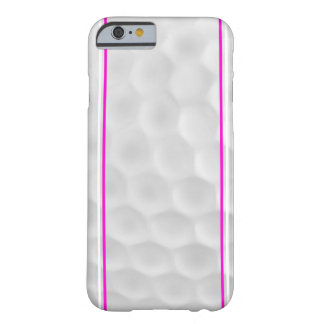 Pink White Golf Ball iPhone 6 case