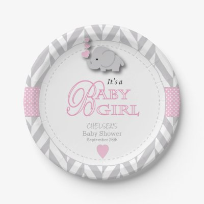 Cute Pink Polka Dot Anchor with Navy Custom Name Paper Plate | Zazzle.com  sc 1 st  Zazzle & Cute Pink Polka Dot Anchor with Navy Custom Name Paper Plate ...
