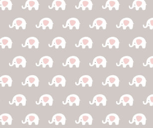 White Elephant Wrapping Paper Zazzle