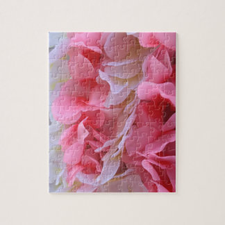 pink white lei jigsaw puzzles