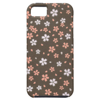 Pink White Origami Flowers iPhone 5 Cover