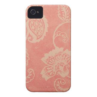 Pink & White Paisley Blackberry Bold Case