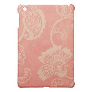 Pink & White Paisley iPad Case