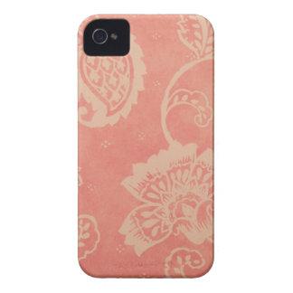 Pink & White Paisley iPhone 4/4S Case