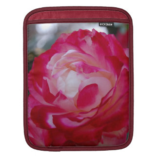 Pink/White Rose Sleeve iPad Sleeve