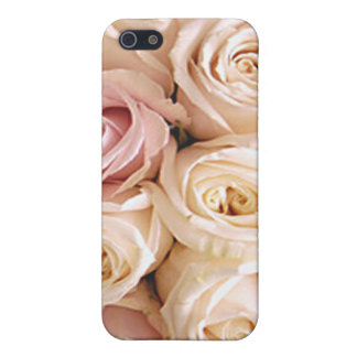 PINK & WHITE ROSES by SHARON SHARPE iPhone SE/5/5s Case