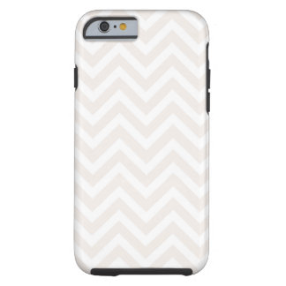Pink & White Zigzag Pattern iPhone 6 Case