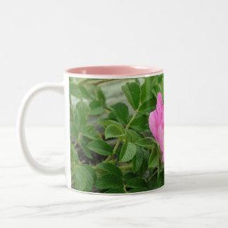 Pink Wild Rose Mug