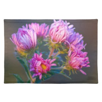 Pink Wildflowers Placemats