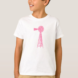 Pink Windmill.png T-Shirt