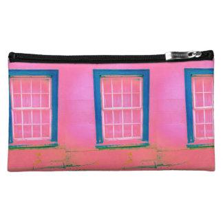 Pink Window Cosmetic Bags