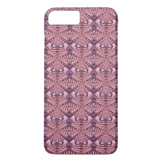 Pink Wine Satin Mandala iPhone 7 Plus Case