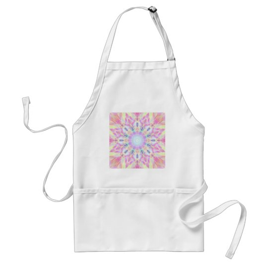 Pink Winter Adult Apron