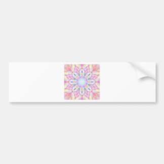 Pink Winter Bumper Sticker
