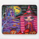 Pink Witch Mousepad