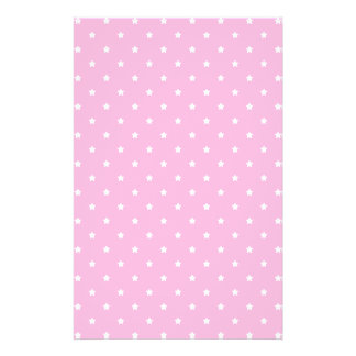 Pink with little white stars Custom Flyer