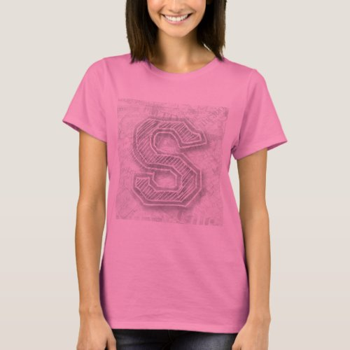pink with s T-Shirt
